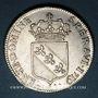 Coins Duché de Lorraine. Léopold (1697-1729). Double teston 1719. Nancy