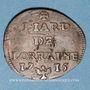 Coins Duché de Lorraine. Léopold I (1697-1729). Liard 1715. Nancy
