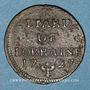 Coins Duché de Lorraine. Léopold I (1697-1729). Liard 1727. Nancy