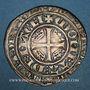 Coins Duché de Lorraine. Marie de Blois-Châtillon, régente de Jean I (1346-1352). Plaque. Nancy
