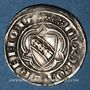 Coins Duché de Lorraine. Raoul (1329-1346). 1/4 gros. Nancy. R ! R !