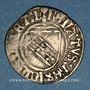 Coins Duché de Lorraine. René II d'Anjou (1473-1508). Blanc. Nancy. Variété inédite !