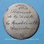 Coins Hagondange (Lorraine). La Mandolinette. Médaille en argent. 37 mm / 5 francs Louis Philippe