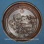 Coins Lorraine. Albert. Médaille en bronze