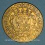 Coins Lorraine. Anne, demoiselle d'Aumale, duchesse de Nemours. Jeton cuivre 1635
