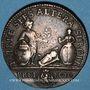 Coins Lorraine. Casimir Antoine Metz de Caumartin, intendant. Jeton cuivre 1754