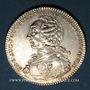 Coins Lorraine. Ch.-Louis-Auguste Fouquet de Belle-Isle, gouverneur 3 Evêchés. Jeton d'argent 1760