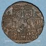 Coins Lorraine. Charles III (1543-1608). Jeton cuivre