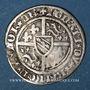 Coins Lorraine. Duché de Bar. René I (1419-1480). Demi-gros. Saint-Mihiel