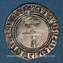Coins Lorraine. Duché de Bar. René I (1451-1453). Gros. Saint-Mihiel