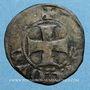 Coins Lorraine. Duché de Bar. Robert (1352-1411). Denier parisis