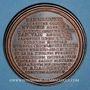 Coins Lorraine. Eberhard, comte d'Alsace. Médaille en bronze