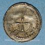 Coins Lorraine. Evêché de Metz. Frédéric de Pluvoise (1171-1173). Denier