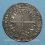 Coins Lorraine. Evêché de Metz. Thierry V de Boppard (1365-1384). Gros. Metz