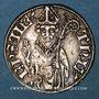 Coins Lorraine. Evêché de Metz. Thierry V de Boppard (1365-1384). Tiercelet (= 1/3 de gros). Metz. R !