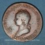 Coins Lorraine. François III ( fils de Léopold I). Jeton cuivre 1714