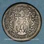 Coins Lorraine. Metz. Henri-François Poutet, échevin de Metz. Jeton de cuivre 1686