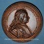 Coins Lorraine. Nicolas d'Anjou (1470-1473). Médaille en bronze