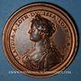 Coins Lorraine. Nicolas François (1634) et Claude de Lorraine. Médaille en bronze