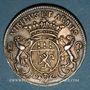 Coins Lorraine. Pierre de Rissan, échevin de Metz. Jeton argent 1696