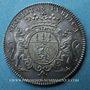Coins Lorraine. Pierre de Rissan, échevin de Metz. Jeton argent 1700