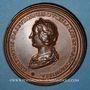 Coins Lorraine. Thiebault I (1213-1220) et Gertrude de Dasbourg. Médaille en bronze