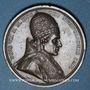 Coins 1er Empire - Sacre de Napoléon par Pie VII. 1804. Médaille bronze. 40,8 mm