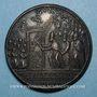 Coins Alexandre VI (1492-1503). Ouverture de la Porte Sainte. Médaille de restitution, bronze