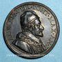 Coins Alexandre VIII (1689-1691). Campagne de libération de la Morée an I (1690). Médaille bronze