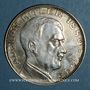 Coins Allemagne. Adolph Hitler (1889-1945). Médaille argent. 30,5 mm