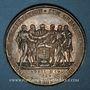 Coins Allemagne. Spire. 300e anniversaire de la naissance du Protestantisme. 1829. Médaille argent
