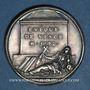 Coins Antoine Godeau, Homme de lettres, évêque de Vence. Médaille argent gravée par Dassier