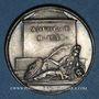 Coins Antoine Le Maistre, avocat (1608-1658). Médaille argent gravée par Dassier
