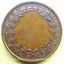 Coins Athéna (vers 1820). Médaille en bronze. 33 mm. Gravée par Dubois