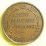 Coins Attentat contre Louis Philippe. 1835. Médaille en bronze. 41,5 mm. Gravée par Caqué