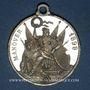 Coins Bavière. Luitpold, prince régent. Manoeuvres. 1898. Médaille étain. 31,81 mm.