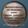 Coins Belgique. Charles Alexandre de Lorraine. Pose 1ère pierre église de Caudenberg 1776. Médaille bronze