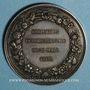 Coins Belgique. Exposition de Gand 29 mars 1868. Médaille argent