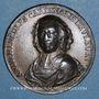 Coins Cardinal de Fleury (1653-1743). Médaille cuivre. 1741. 39,4 mm
