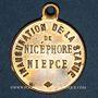 Coins Chalon-sur-Saône (Bourgogne, Saône et Loire). Inauguration de la statue de Nicéphore Niepce. 1885