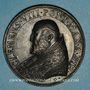 Coins Clément VIII (1592-1605). La Religion. Médaille de restitution, bronze
