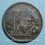 Coins Clément XII (1730-1740). La ville de Ravenne protégée des inondations, 1735. Médaille bronze