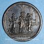 Coins Clément XIV (1769-1774). Les Trois Art (1773). Médaille bronze