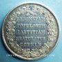 Coins Espagne - Portugal. Commémoration de mariages. 1785. Médaille en argent. 43,3 mm