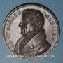 Coins Franc-maçonnerie. Honoré Muraire, lieutenant grand commandeur de l'Ordre Ecossais. 1829. Médaille cu