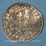 Coins FRANCFORT. Prix d'école du gymnase (1670-1690). Médaille en argent. 26,02 mm