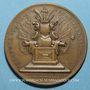 Coins Grande-Bretagne. Anne (1702 -1714). Médaille cuivre