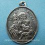 Coins Gray. Orphelinat St Joseph (vers 1875). Médaille en argent. Ovale. 27,9 x 37,3 mm