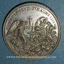 Coins Grégoire XIII (1572-1582). Massacre de la Saint Barthélémy. Restitution (18e-19e s.) . Etain. 34,8 m