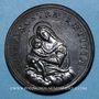 Coins Grégoire XV (1621-1623). La Vierge et l'Enfant, 1623. Médaille de restitution, bronze